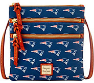 Dooney & Bourke NFL Patriots Triple Zip Crossbody - A285672