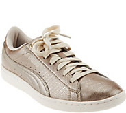 PUMA Metallic Lace-up Sneakers - Vikky Metallic - A287972
