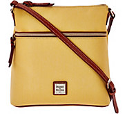 As Is Dooney & Bourke Canvas Crossbody with Leather Trim - A288172