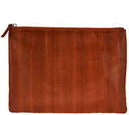 Lee Sands Eelskin Clutch Purse with_RFID Protection - A288372