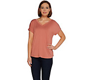 As Is H by Halston Essentials Extended Shoulder Top - A297872