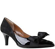 J. Renee Low Heel Pointed Toe Pumps - Machealle - A355972