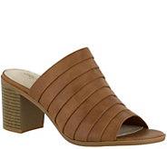 Easy Street Heeled Slide Sandals - Chella - A356572