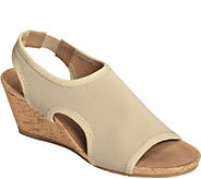 A2 by Aerosoles Heel Rest Wedge Sandals - Coffee Cake - A357672