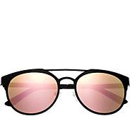 Breed Mensa Black Titanium Sunglasses w/ Polarized Lenses - A361272