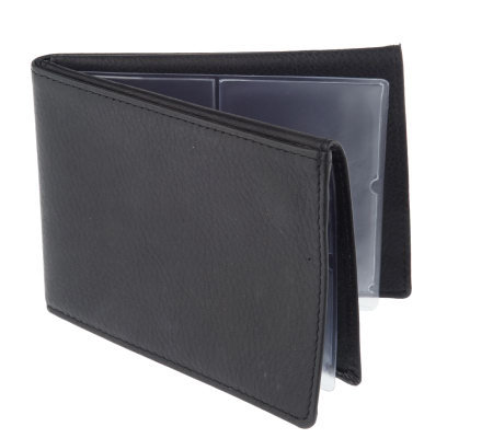Savvy Caddy Slim Design Identity Protection Leather Wallet