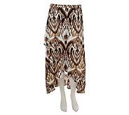 Liz Claiborne New York Petite Ikat Crossover Maxi Skirt - A233573
