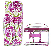 Vera Bradley Signature Print Straighten Up & Curl with 311 - A253673