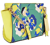 Emma and Sophia Printed Saffiano Leather Crossbody - A253973