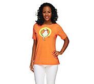 Bob Mackies Kitty Kat Klub T-Shirt - A255573