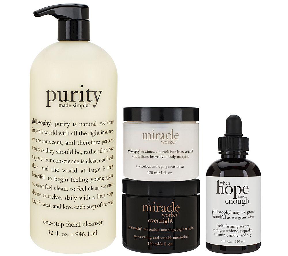 philosophy super-size 24-hour skin care makeover system'
