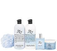 philosophy supersize 4pc fragrance set w/ bath sponge - A266073