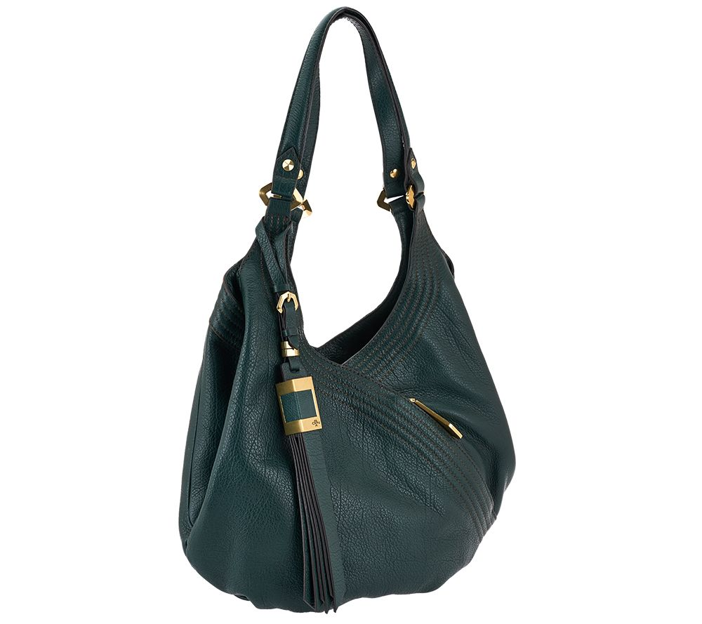 orYANY Italian Grain Leather Hobo - Medium Tracy - Page 1 — QVC.com