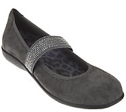Vionic Orthotic Leather Mary Janes - Fern - A270373
