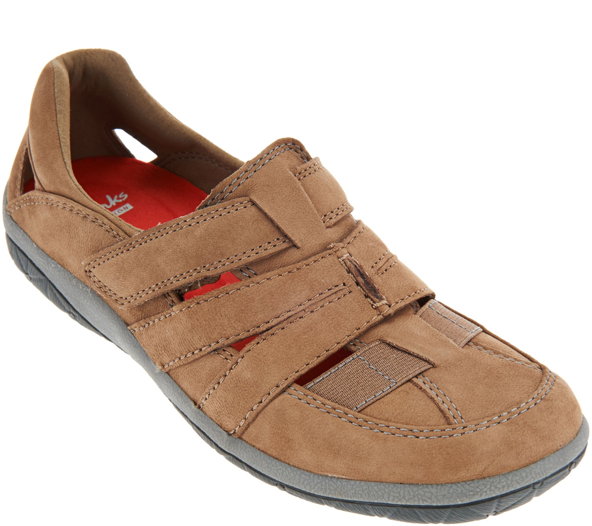 clarks collection nubuck athletic shoes teffa adorn