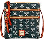 Dooney & Bourke NFL Raiders Triple Zip Crossbody - A285673