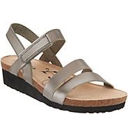 Skechers Metallic Quarter Strap Wedge Sandals - Brons - A287773