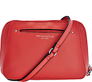 As Is Tignanello Pebble Leather RFID Crossbody and Belt Bag - A289073