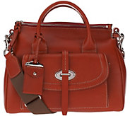 As Is Dooney & Bourke Florentine Toscana Small Satchel - A291673