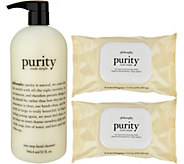 philosophy purity made simple cleanser & cloths trio - A293473