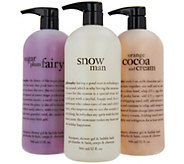 philosophy super-size shower gel trio - A293973
