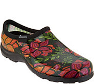 Slogger Waterproof Spring Surprise Garden Shoe w/ Comfort Insole - A303873