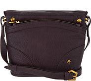 As Is orYany Lamb Leataher Crossbody Bag- Mia - A304273