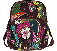 As Is Vera Bradley Signature Print Hadley Backpack - A305173