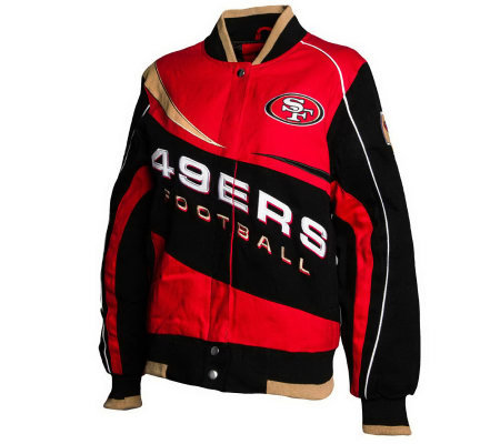 NFL Team Color Ladies Kick Off Jacket