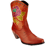 Spring Step LArtiste Western-Style Leather Boots - Aster - A334273
