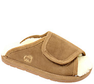 Lamo Dije California Leather Wrap Adjustable Slippers - A334773