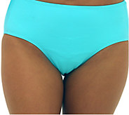 Fit 4 U Tummy Solid Brief Swim Bottom - A337073