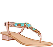 Nomad Leather Thong Sandals - Mandalay - A340273