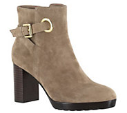 Bella Vita Leather or Suede Ankle Boots - Zelda - A341173