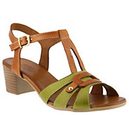 Spring Step Leather Sandals - Stafani - A364173