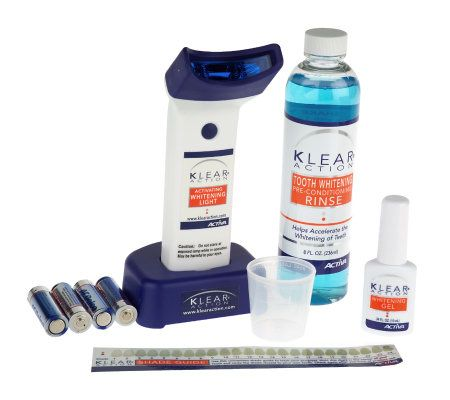 Klear Action Teeth Whitening Light System Page 1 Qvc Com