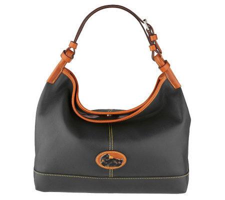 Dooney & Bourke Leather Fairfield Champsac — QVC.com