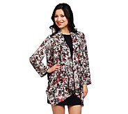 Nicole Richie Collection Printed Cascade Jacket - A224274
