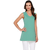 Liz Claiborne New York Essentials Sleeveless Knit Tunic - A253174