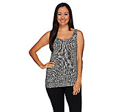Cuddl Duds Softwear Stretch Reversible Tank Top - A268474
