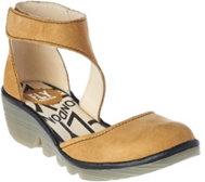 FLY London Suede Closed Toe & Heel Sandals - Piat