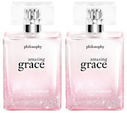 philosophy holiday edition amazing grace eau de parfum 2 oz duo - A276474