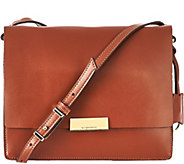 As Is Isaac Mizrahi Live! Whitney Leather Shoulder Bag - A278974