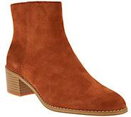 Clarks Somerset Block Heel Boots - Breccan Myth - A281474