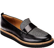 Clarks Artisan Leather Loafers - Glick Avalee - A282074
