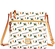 Dooney & Bourke NCAA University of Miami Crossbody - A283174