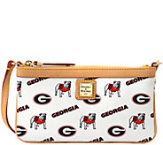 Dooney & Bourke NCAA University of Georgia Slim Wristlet - A283274