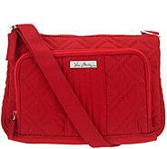 As Is Vera Bradley Microfiber Little Hipster Crossbody Bag - A286074