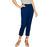 Joan Rivers Joans Signature Pull-on Crop Pants - A288774