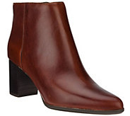 Rockport Total Motion Leather Ankle Booties - Lynix - A296674